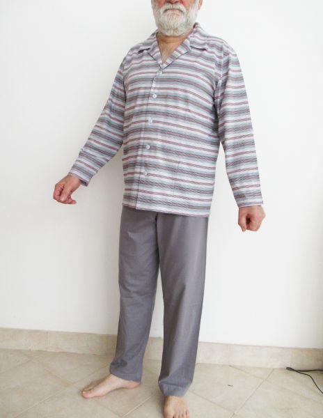 Kogo férfi pamut pizsama elöl gombos aa96ce8808